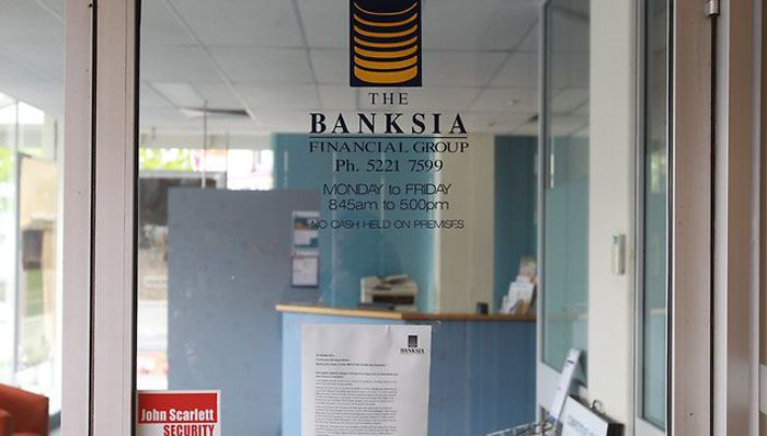 Banks win big with Banksia collapse