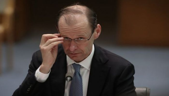 "ANZ Bank chief executive Shayne Elliott said it was ""completely unacceptable"" the bank had caused some of its customers harm. Photo: Andrew Meares"
