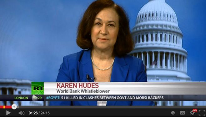 World Bank Whistle blower Karen Hudes Reveals How the Global Elite Rule The World
