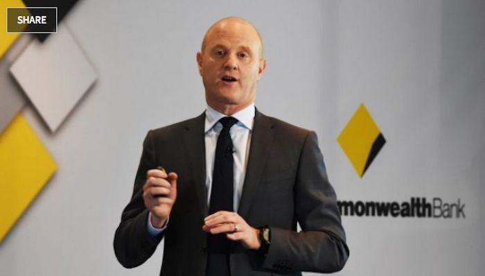 "CBA's next chief executive ""will be better than the current one"", says outgoing CEO Ian Narev. Photo: Peter Braig"
