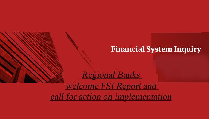 Regional Banks welcome FSI Report and call for action on implementation