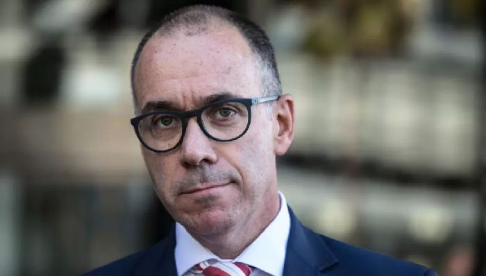 NAB CEO Andrew Thorburn said the challenging backdrop for banks would continue for the next year.CREDIT:JESSICA HROMAS