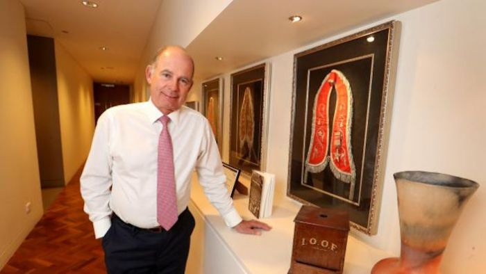 OOF Holdings managing director Chris Kelaher. Picture: David Geraghty