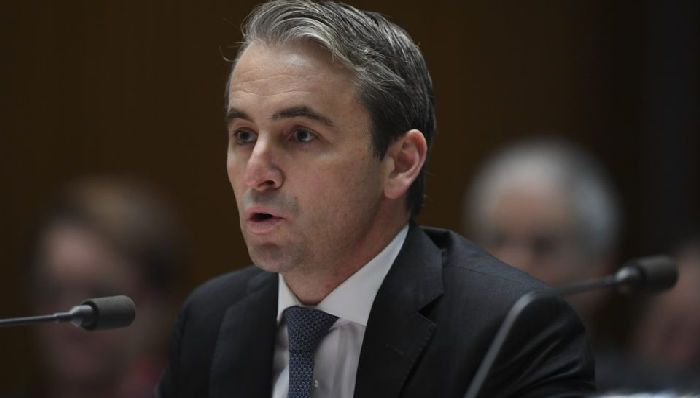 Commonwealth Bank CEO Matt Comyn was met with laughter as he attempted to answer questions from a House of Representatives committee. Photo: AAP