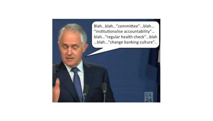 Turnbull: Flunkey for the banking mafia