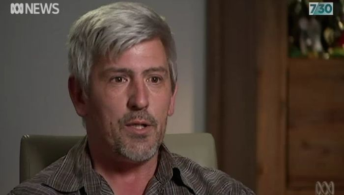 Jason Hannagan had to sell his family home after getting a loan he couldn't repay. (ABC News)