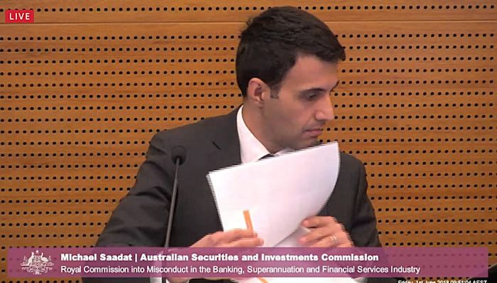 ASIC's Michael Saadat. Photo: Supplied