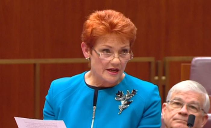 Pauline Hanson ready to take on banks over farmers