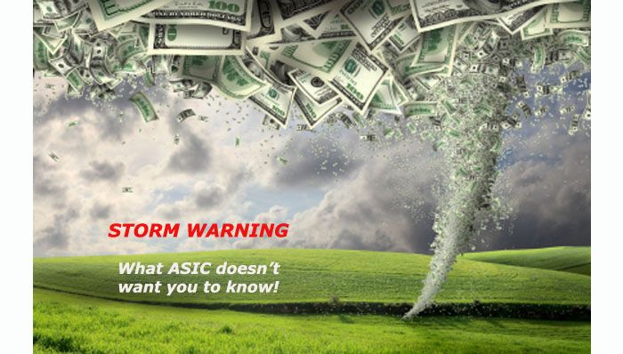 ASIC's flawed policy continues to put thousands of investors at risk!