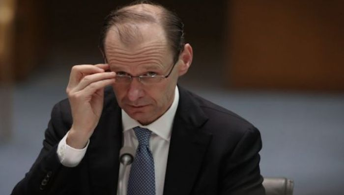 ANZ Bank chief executive Shayne Elliott (pictured) will succeed NAB's Andrew Thorburn as the next chair of the Australian Bankers' Association. Photo: Andrew Meares