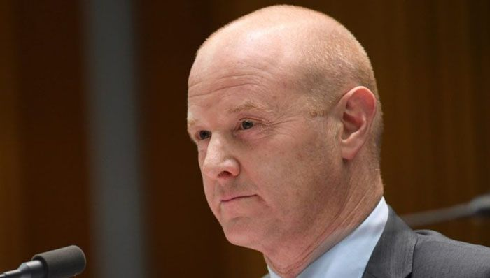 Narev fronts a second round of questioning on Tuesday. Photo AAP