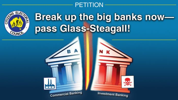Government still lying about bail-in and deposits, to protect banks from Glass-Steagall