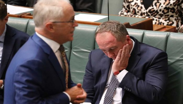 Photo: While Barnaby Joyce was deputy PM, the Government repeatedly refused a royal commission. (ABC News: Jed Cooper)